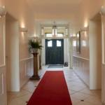 Hotel Snorrenburg Eingang