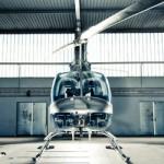 Kay-Fly Helikopter im Hangar