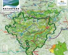 Uebersichtskarte-Naturpark-Sauerland-Rothaargebirge